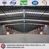 Estructura de acero prefabricada de construcción baratos cobertizo de almacenamiento