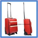 工場製造者PUの革荷物の箱、車輪が付いているカスタマイズされた旅行トロリー袋