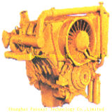 De Dieselmotor van Deutz F6l413 met de Vervangstukken van de Motor Deutz