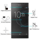Celda de alta calidad/accesorios para teléfonos móviles de vidrio templado Protector de pantalla para Sony, Sony Xperia Xperia, L1