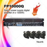 Fp10000q Amplificador de potencia profesional de conmutación de 4 canales de alta potencia