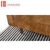 Muebles Leathe marroquí diseños conjuntos de sofás de cuero