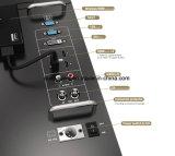 23.8 '' monitor de mano del estudio de la foto del IPS 4k 3840*2160 3G-Sdi