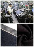 Ткань 100% джинсовой ткани печати пятна хлопка для одежды детей