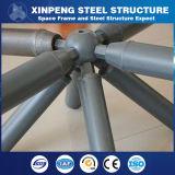 Полуфабрикат покрашенная структура ферменной конструкции стальной структуры