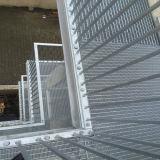 Rejilla de acero antioxidante para pisos y aceras