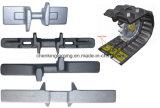 Pièces de machines modifiées de construction
