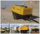 35bar Atlas Copco Motor Diesel compresor de aire de tornillo para minería