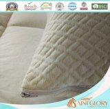 Cuscino della gomma piuma di memoria con il coperchio di bambù smontabile