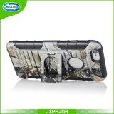 方法ベルトクリッププラスiPhone 6携帯電話の箱カバーのためのハイブリッドによってカスタマイズされる携帯電話の箱