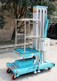 8metersアルミニウム油圧作業上昇のプラットホーム(淡いブルーのGTWY8-100)