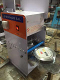 Máquina automática manual da selagem da caixa do copo do aferidor de Semiauto