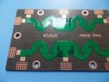 Strato PTFE della scheda 2 del PWB di rivestimento di OSP con 1.6mm spesso