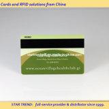 Cartão de presente com desconto feito de PVC transparente com fita magnética