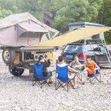 Tenda impermeabile pieghevole esterna dell'automobile laterale della spiaggia della tela di canapa del camion del baldacchino della tenda del tetto dell'automobile