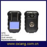 専門の完全なカメラが付いている1080P警察のWiFiの携帯用警察のボディによって身に着けられているカメラ