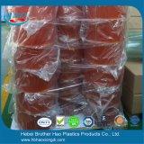 De Oranjegele Uitrustingen van de Deur van het Gordijn van de Strook van de Controle op het lawaai eco-Friendy Vinyl