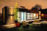 40FT pré-fabricou o quarto de acampamento da casa modular do recipiente