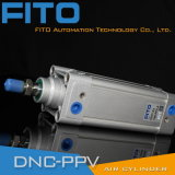 DNC ISO 15552 Festo 표준 압축 공기를 넣은 실린더 또는 알루미늄 피스톤 실린더