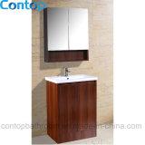 Moderner festes Holz-Badezimmer-Hauptschrank