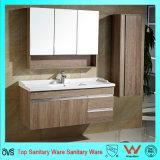 47-дюймовый цельной древесины из дерева туалетный столик с зеркалом кабинет и кабинет со стороны