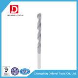 Flauta larga revestida de la flauta espiral de los taladros de torcedura del carburo del CNC 2