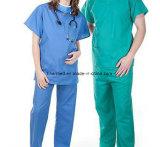 Coton lavable réutilisable médical Infirmière costume Scrub