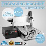 Engraver/гравировка маршрутизатора CNC 3040t 4axis филируя высекающ машину