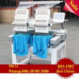 Ho-1502 Máquina de bordado con tapa/T-Shirt/ multiuso de prendas de vestir