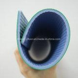배드민턴, 탁구 격자 패턴 4.5mm 두꺼운 Hj102를 위한 마루가 PVC에 의하여