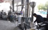 Línea de reciclaje plástica precio de la refrigeración por aire de la protuberancia del granulador de WPC