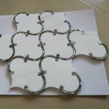 Плитка пола мозаики строительного материала смешанная естественная мраморный каменная