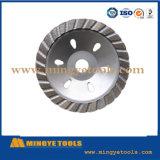 Rodas de copa para moagem e polimento de superfície de granito