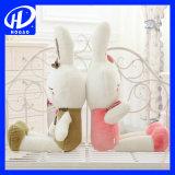 Прелестная заяц мягкие игрушки кукла Мягкая подушка фаршированные игрушка животных рождественских подарков