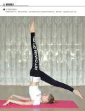 Гетры йоги высокого качества печатание слов плотно