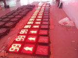 소통량을%s 새로운 디자인 LED 번쩍이는 카운트다운 미터