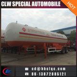 Semitrailer dobro do gás líquido do reboque do petroleiro dos eixos 40000L 20mt LPG