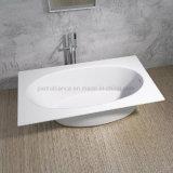 Nueva bañera superficial sólida incorporada moderna de Freestading (PB1061)
