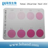 Jogo total do teste do cloro para o uso Home e o laboratório