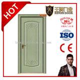 Porte en bois intérieure populaire de PVC de forces de défense principale avec le prix inférieur