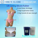 Liquido di gomma del silicone curato Platinm delle bambole del sesso con durezza morbida