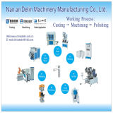 Delin Machinery Hot Sale Automatic Double Head Core Shooting Machine