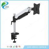 Jeo 180 정도 회전대 최신 판매 공장 가격 고도 조정가능한 Ys-Ga11u 책상 죔쇠 모니터 라이저를 자전하는 360 도