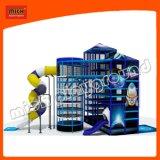 De ruimte Toren van de Spin van de Speelplaats van de Dia van het Thema Binnen Zachte