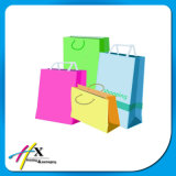 Bolsa de Papel Kraft Blanco con Papel Twist Handle