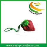 Sac à provisions en nylon réutilisable en forme de fraise