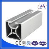 고품질 크기 Customied 6061-T5 알루미늄 밀어남 단면도