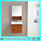 Vaidade moderna/gabinete do banheiro da madeira de carvalho do estilo dos mercadorias sanitários