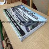 Impression durable de dessins de signe de panneau de Corflute estampée par coutume en gros