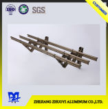 Perfil a del aluminio tres